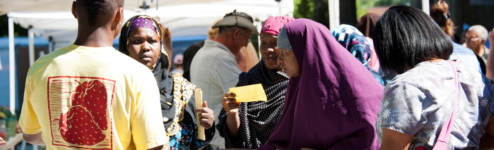 Somali Women at CPH Farmer's Market