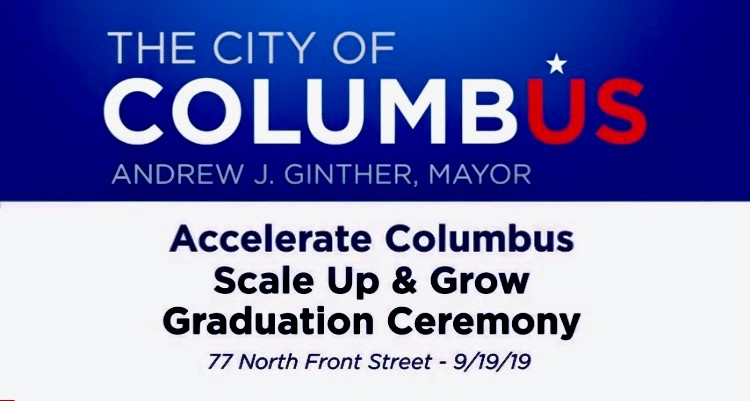 Accelerate Columbus Scale up and Grow Graduation Ceremony