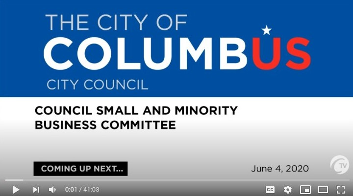 Small Business Hearing - June 4 2020