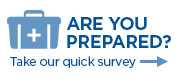 Are you prepared survey icon