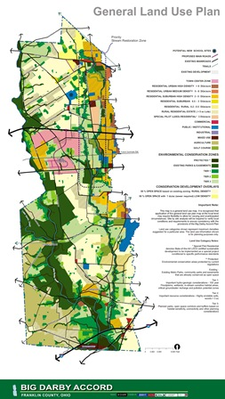 Big Darby Recommended Land Use Map