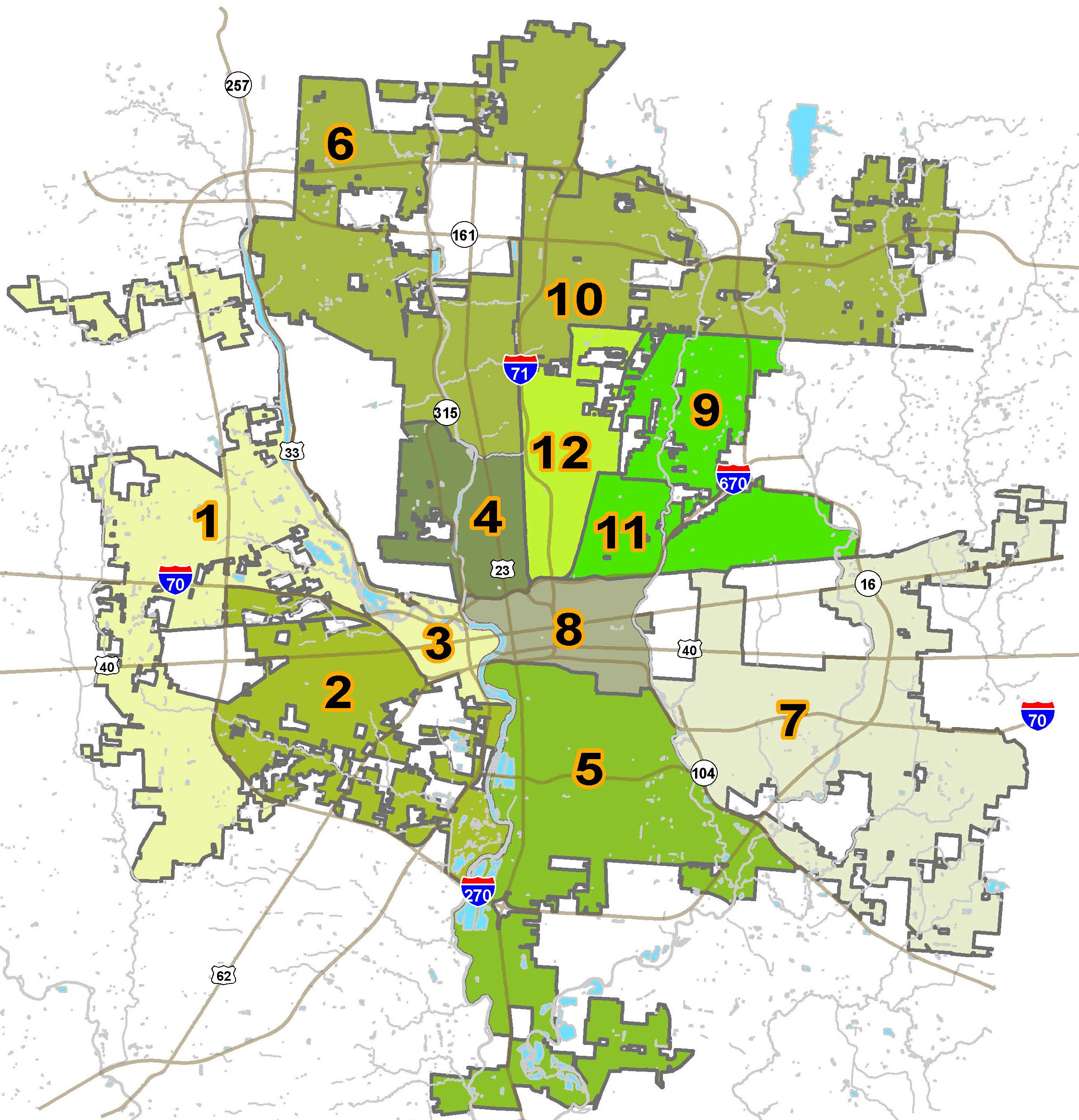 Code Enforcement Areas