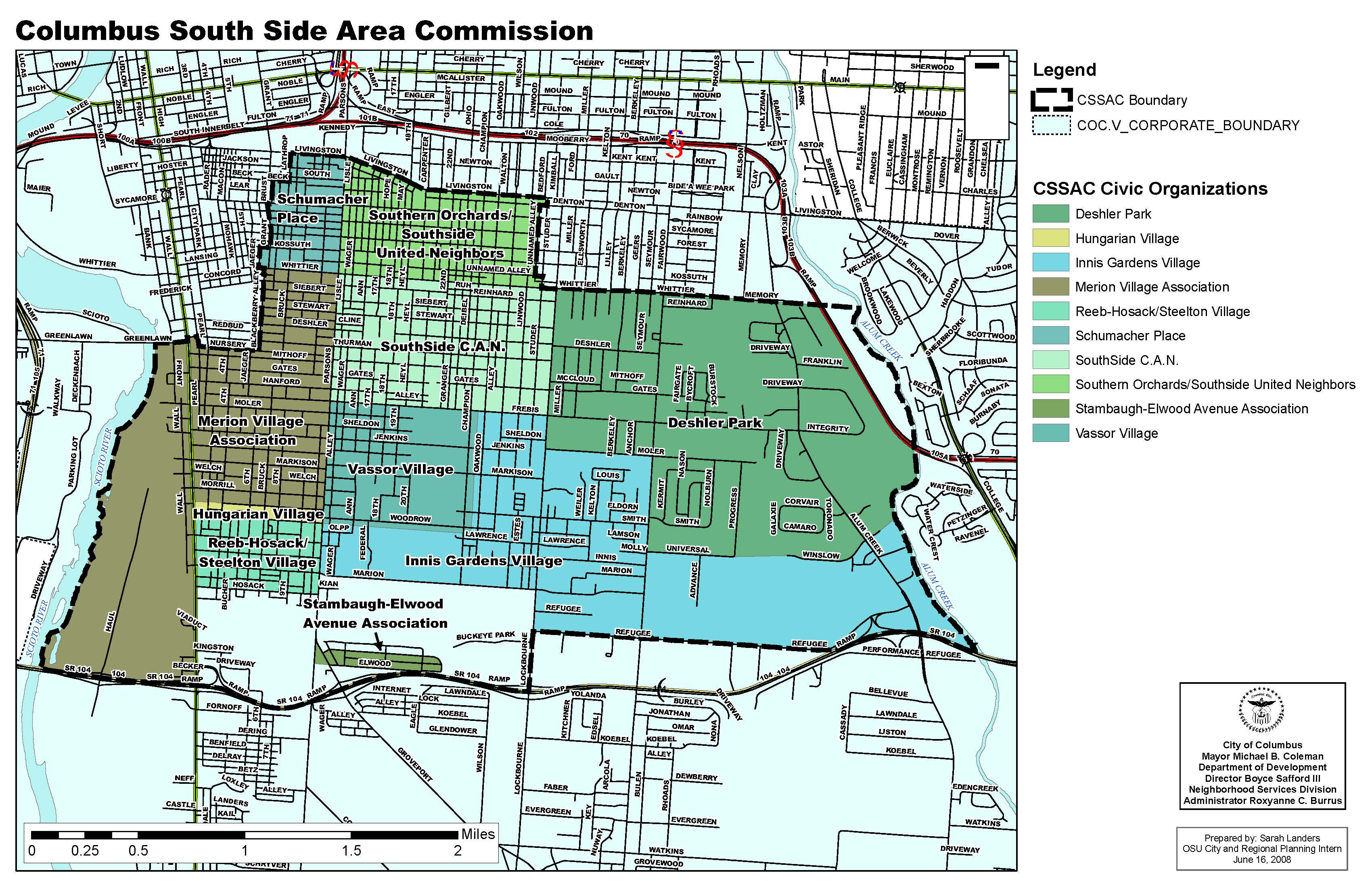 Columbus South Side Area Commission