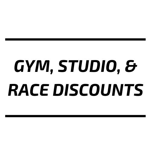 Gym Studio & Race Discounts