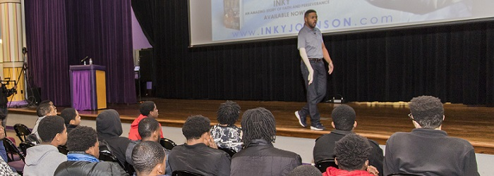 Inky Johnson Speaks at the 2018 MBK Conference
