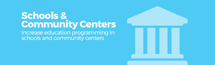 Schools and Community Centers