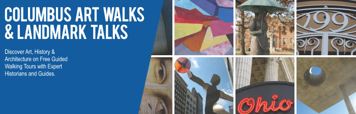 Art Walks Landmark Talks Banner