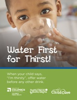 Water First campaign icon