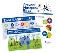 Zika basics card graphic
