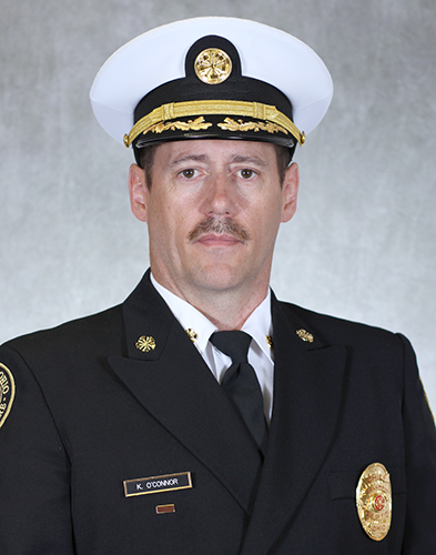 Fire Chief Kevin O'Connor