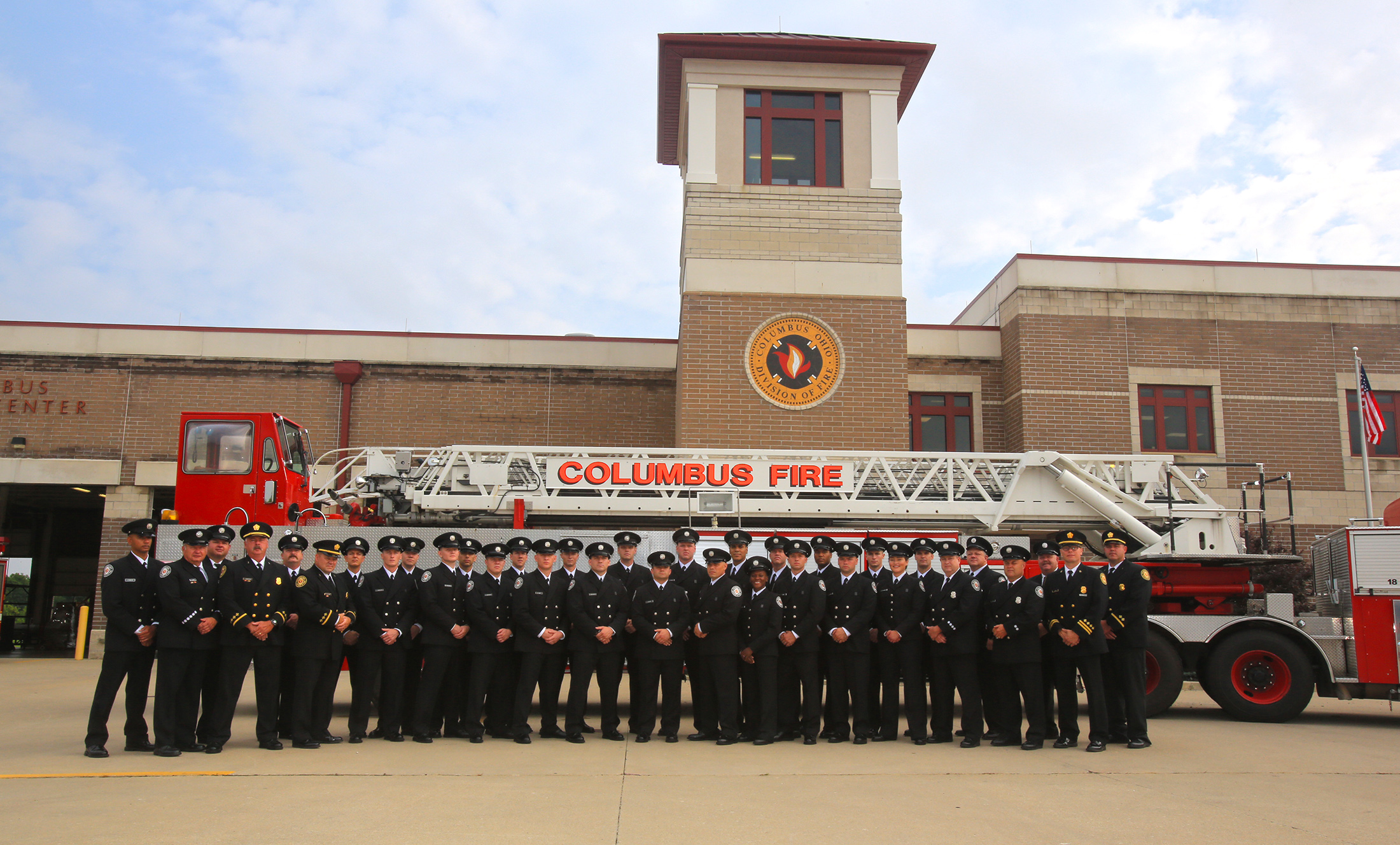 City of Columbus Division of Fire 104th Graduating Class
