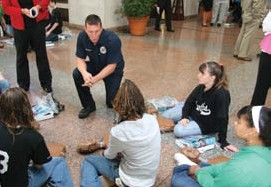 First Aid CPR and AED Training