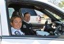 Officers in Patrol Car