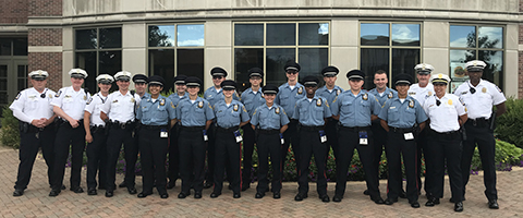 Public Safety Cadets Group Photo DS