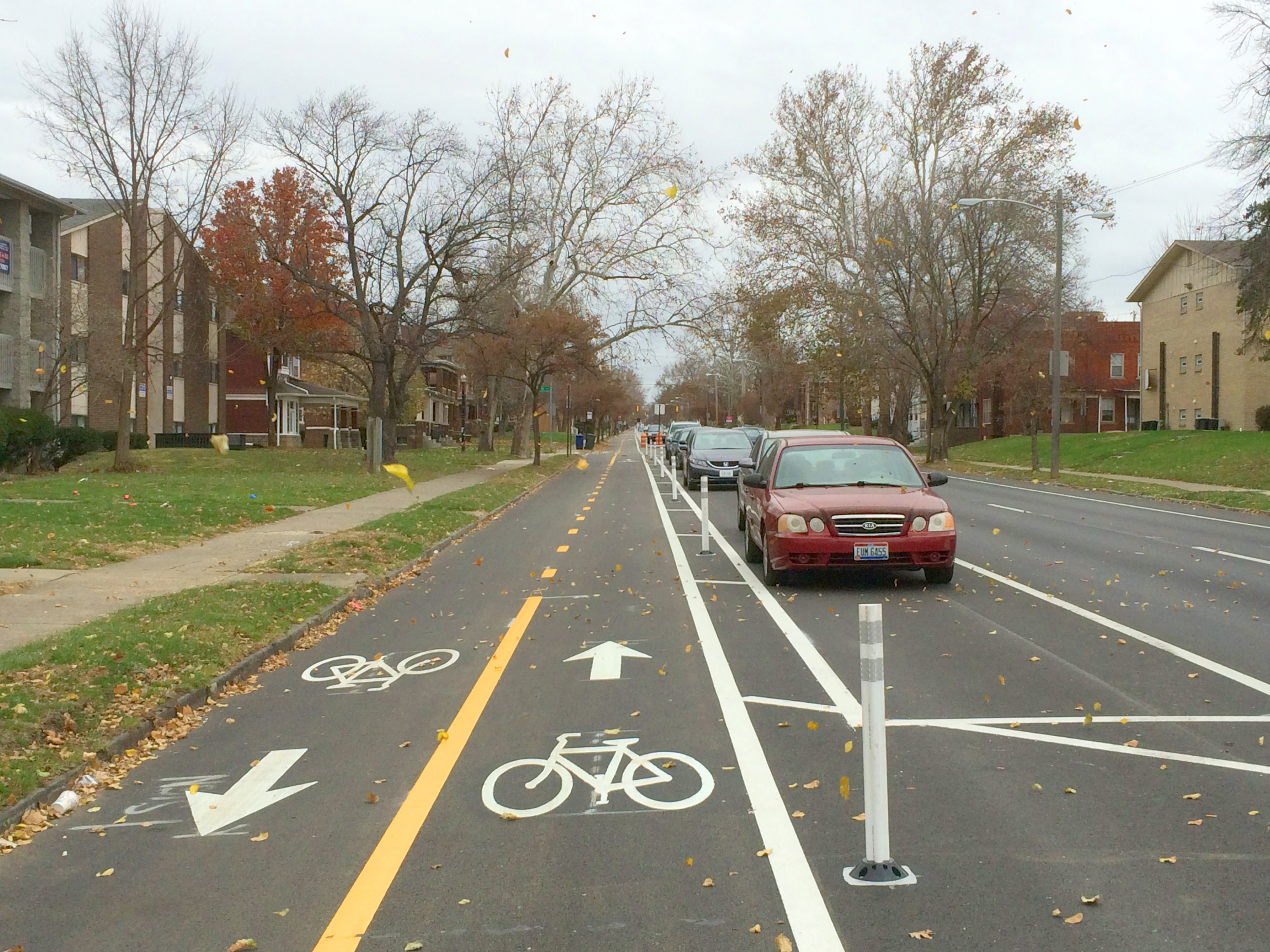 Protected Bicycle Lanes