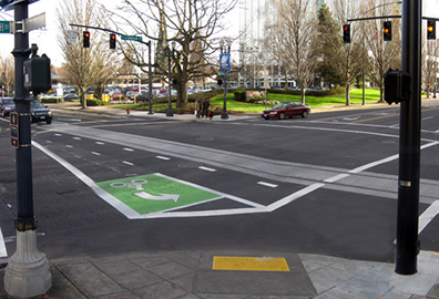 Bike Lanes To Be Installed On Ohio and Champion Avenues, Enhanced On Spring and Long Streets