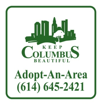 Adopt an Area Sign