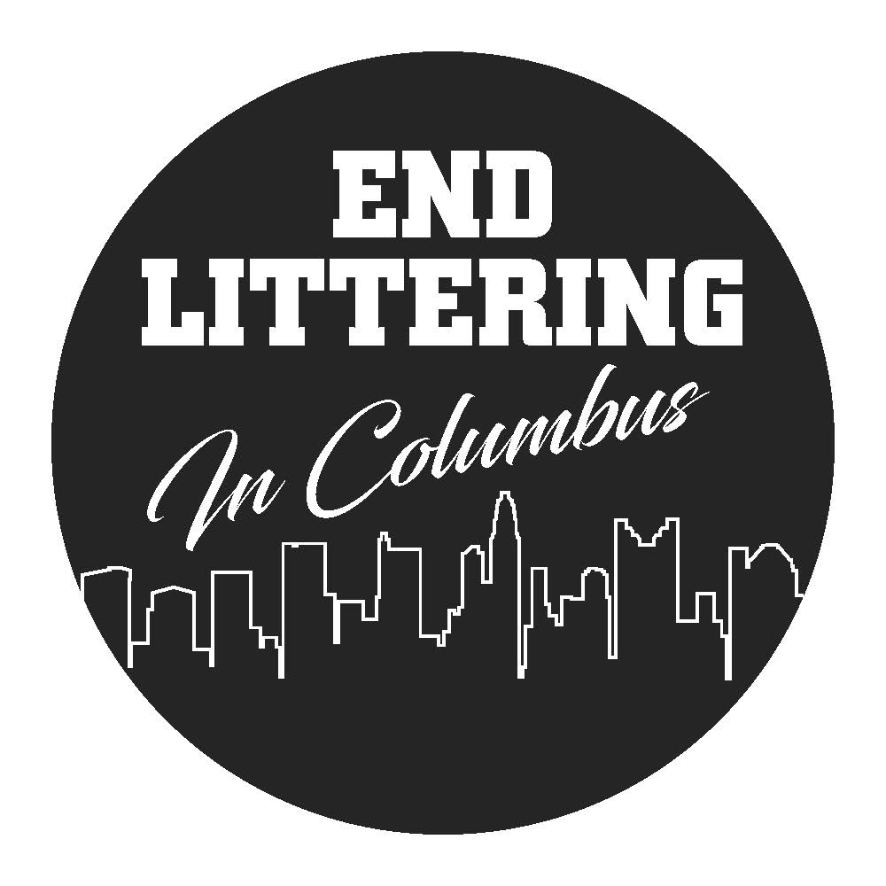 End Littering Button Image