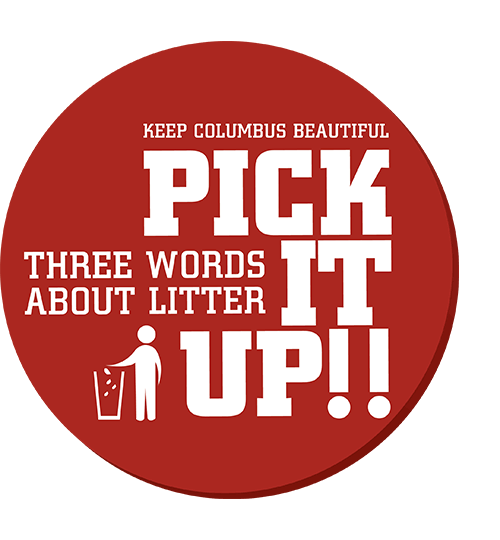 Three Words About Litter...Pick It Up!