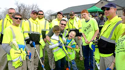 KickButtColumbus! Volunteers Cleanup 22.3 Tons of Litter