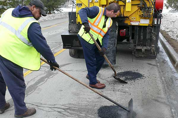 Pothole Patching News Icon