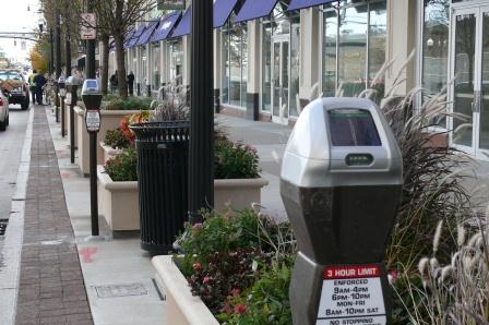 High Street parking meters
