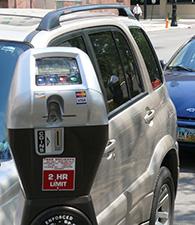 Parking Meter Map