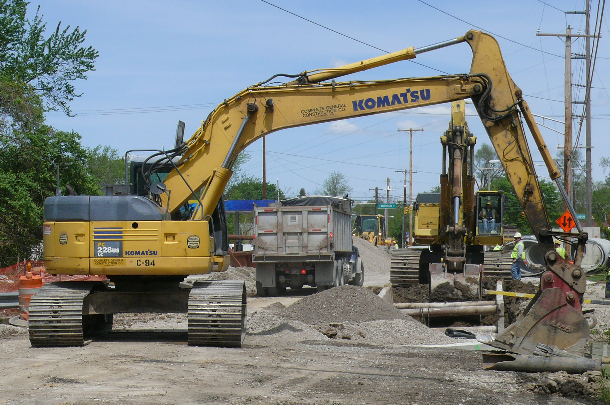 Construction of Final Phase of Hard Road Improvements To Start on Monday