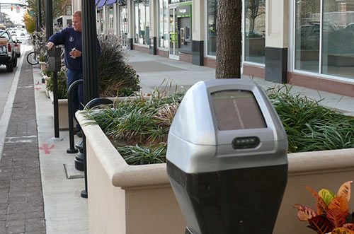 Parking Meter Front Page