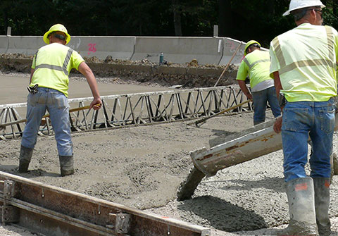 Road Construction Concrete