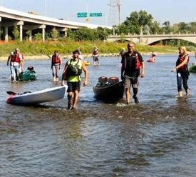 City, University Celebrate Restoration of Olentangy River