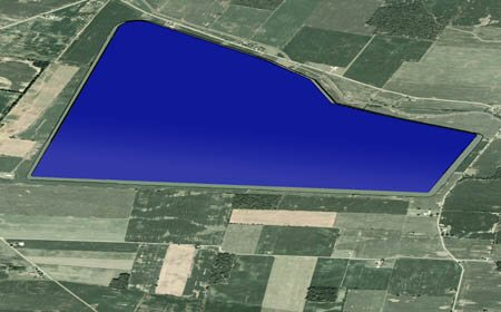 Upground Reservoir Rendering