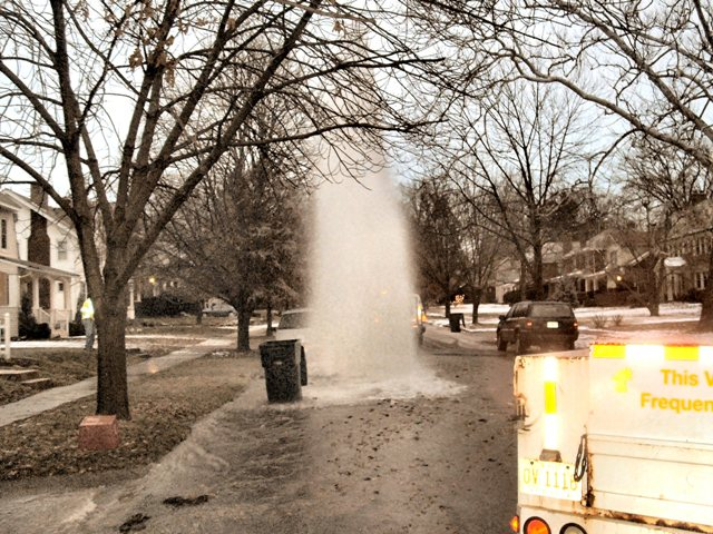 Water Main Breaks