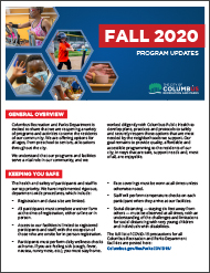 Fall 2020 Program Update Thumbnail