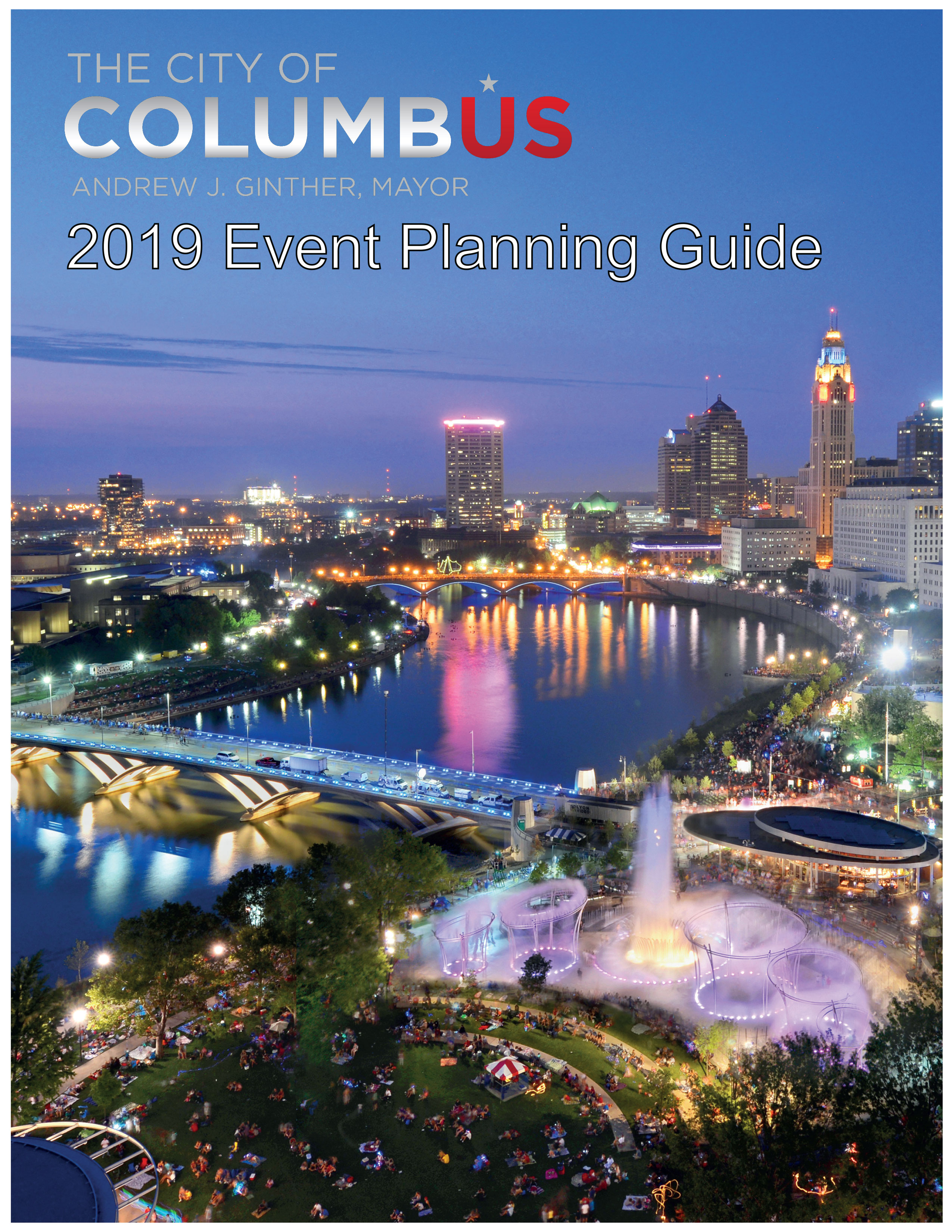 2019 Event Planning Guide Cover