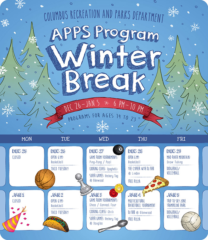 APPS Winter Schools Out 2017