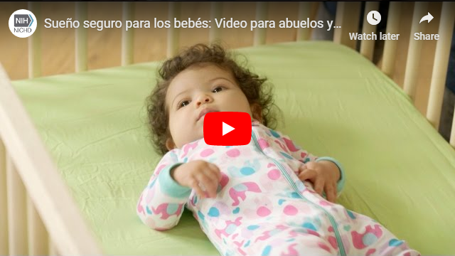 Safe Infant Sleep Screen cap - Spanish