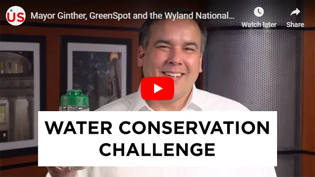 Mayor Ginther, GreenSpot and the Wyland National Mayor's Challenge for Water Conservation