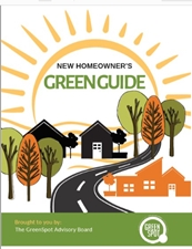 New Homeowner Green Guide cover