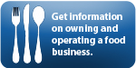 Owning a Food Business Link icon