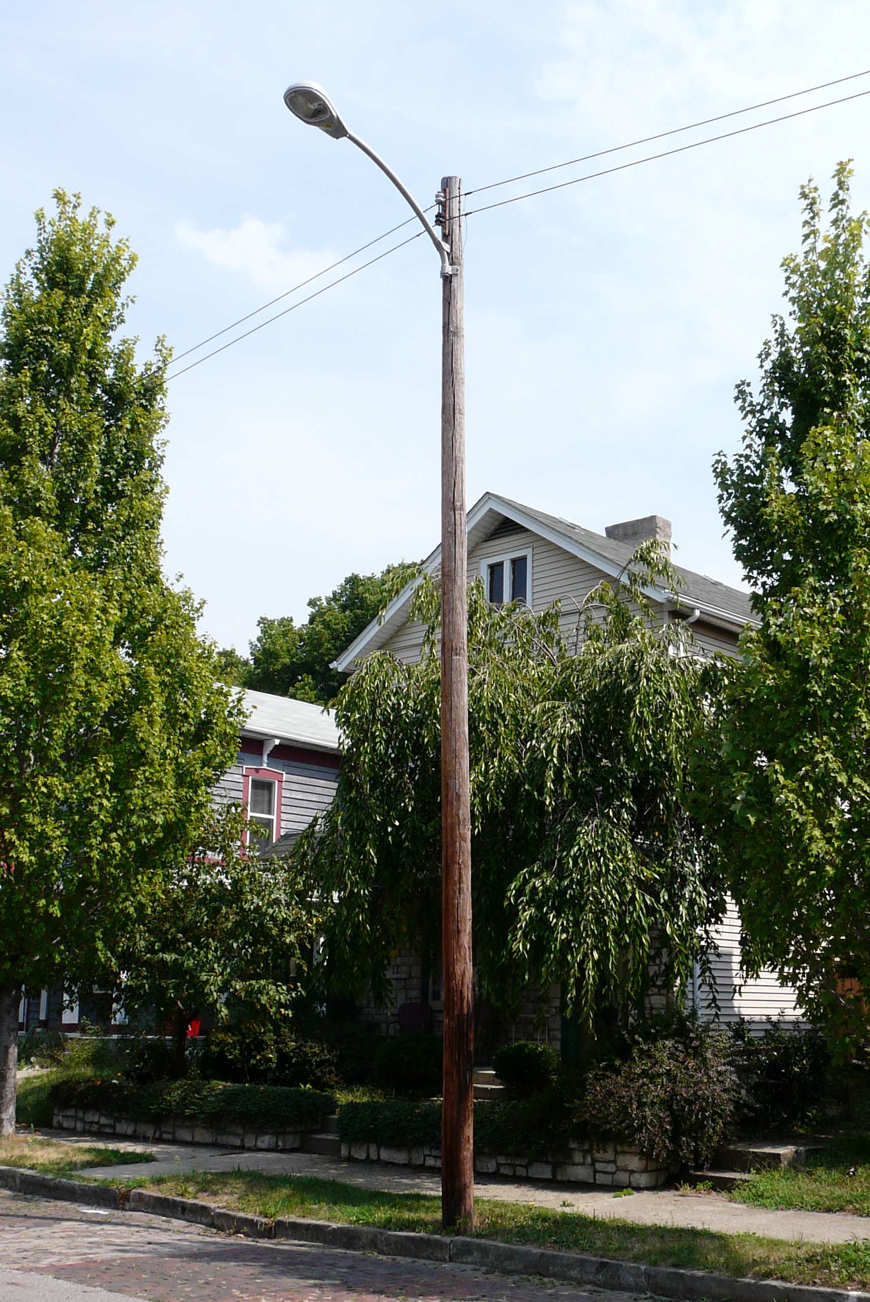 Used Light Poles : Request neighborhood street lighting