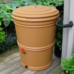 Rain Barrel Terracotta