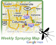 Spraying Map graphic
