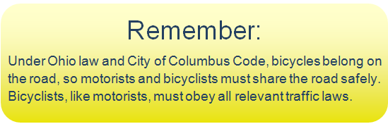 Bicycle Safety Reminder Image