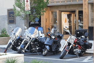 Motorcycle Parking Corral