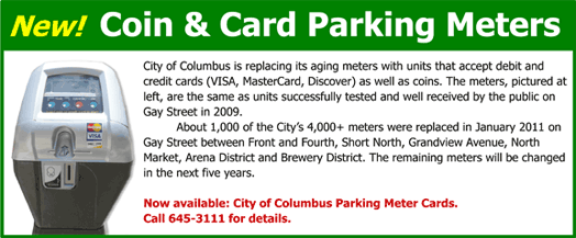 Newest Parking Meter Info